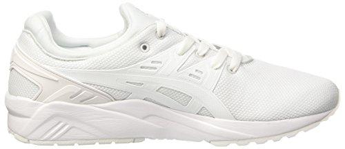 Asics Gel-Kayano Trainer Evo, Sneakers Basses Homme Blanc (White/white)