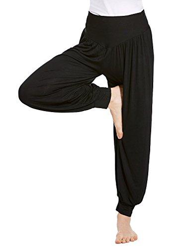 VENI MASEE® Frauen Weichen, elastischen Bund Fitness Yoga Herem Hosen, Farben