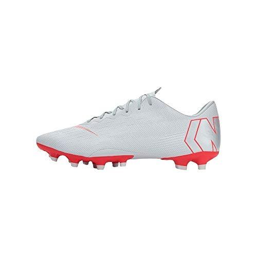 Nike Unisex-Erwachsene AH8759 Sneakers, Mehrfarbig (Wolf Grey/Lt Crimson/Pure Platinum 001), 41 EU