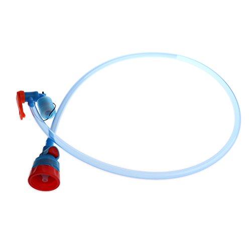 MagiDeal Schlauch mit Ventil für Wasserflasche - Trinkblasenschlauch - Trinkbeutel Trinkblase Schlauch mit Mundstück. Länge: Ca. 94 cm für Camping Wandern Radsport