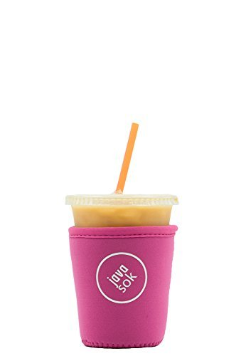 iced-java-sok-bright-pink-small-perfect-fit-neoprene-cup-sleeve-for-dunkin-donuts-and-starbucks-and-