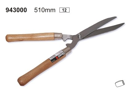 Hand Heckenschere 51 cm, Gartenschere 510 mm