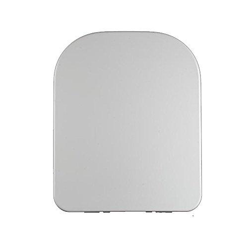NAN Toilettendeckel absteigende quadratische Verdickung Harnstoff-Formaldehyd-Harz WC-Deckel universal WC-Brett kratzfest breiten 34,5 cm / 36 cm WC-Sitzbezug ( größe : W34.5CM )