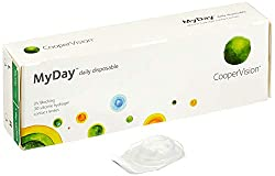MyDay daily disposable, Tageslinsen weich, 30 Stück / BC 8.40 mm / DIA 14.20 mm / -1.75 Dioptrien