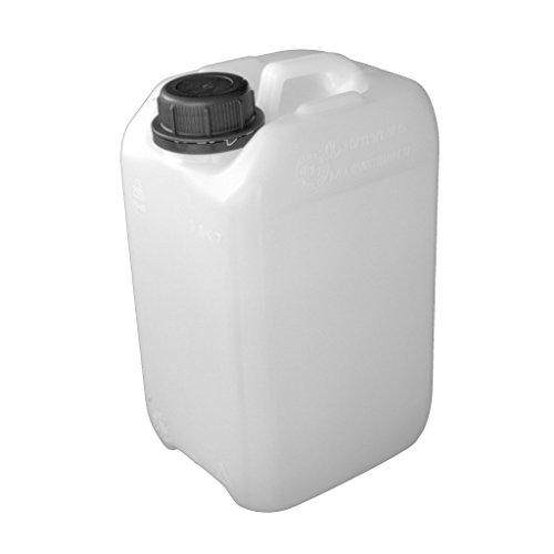 Kanister aus HD-PE (natur) mit Lebensmittelfreigabe, unbefüllt (3 Liter) - 3 Kanister