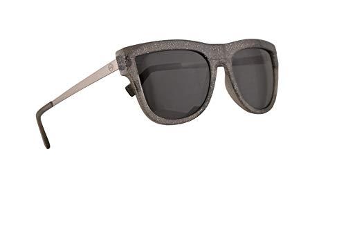 Michael Kors MK2073 St. Kitts Sunglasses Black Glitter w/Dark Grey Lens 56mm 335187 MK 2073