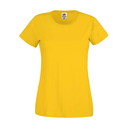Fruit of the Loom -  Polo  - Donna sunflower