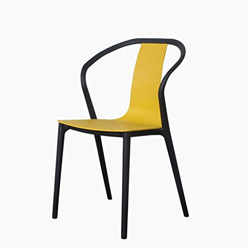 KGMYGS Stuhl einfachen Esstisch und Stühle im Freien Büro Lounge Sessel Restaurant kreativen Stuhl...