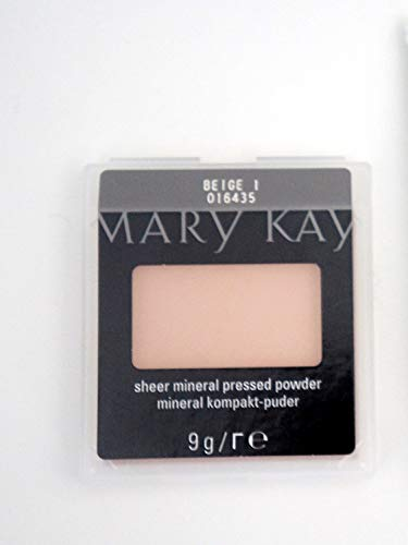 Beige 1 Mary Kay Sheer Mineral Pressed Powder Mineral kompakt Puder 9g Mhd 2019/20 -