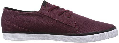 Volcom Lo Fi Shoe, Chaussures de Skateboard homme Rouge - Rot (Blood Red / Blr)