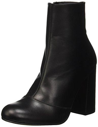 Steve Madden Retrro, Bottes Classiques femme Noir (Black Leather)