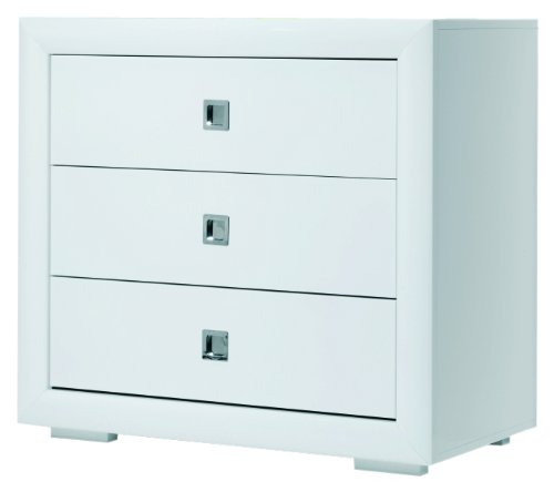 Bebecar Art Chest (White) Bebecar Manufactured from sustainable Portuguese pine Soft Close brake mechanism on drawers to prevent them from slamming shut Assembly instructions are provided 1