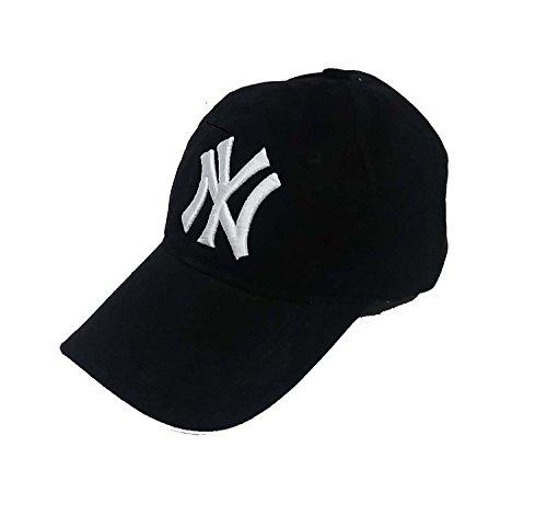 4f830b60470 44% OFF on Red Eye Black Baseball NY Polyester Cap on Amazon ...