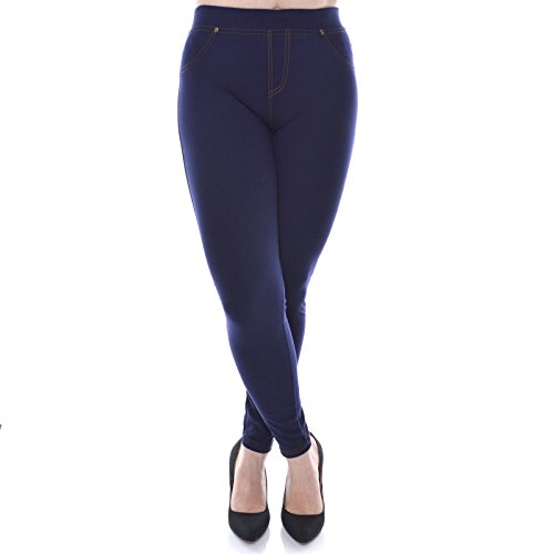 bezlit-pantaloni-sportivi-jeggings-basic-donna-blau-xxx-large