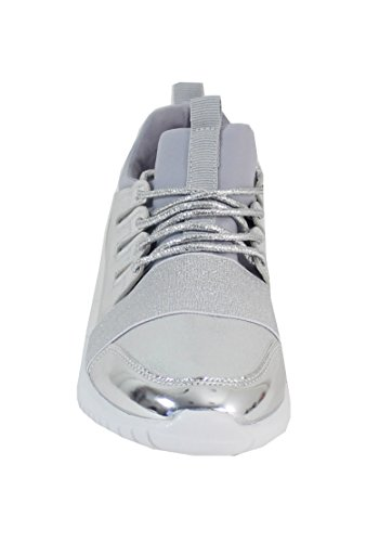 By Shoes - Damen Sneakers Grau