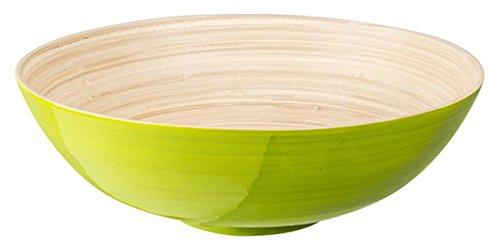 Fackelmann 27081 Dekoschale, Bambus, mehrfarbig