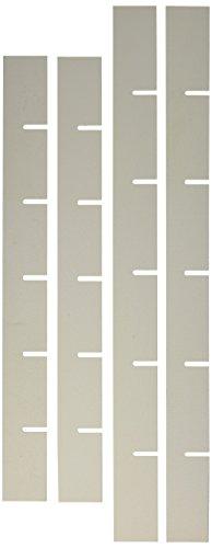 *GiMa 45644Raumteiler H 4cm für Schublade gelb, 49cm Länge x 48cm Breite x 10cm Höhe*