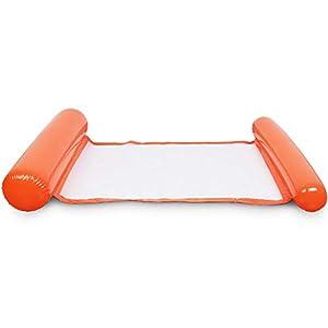 YIFEIKU Co.,Ltd. Aufblasbare Schwimm-Hängematte, Spaß-Wasserstuhl, tragbar, für Kinder und Erwachsene