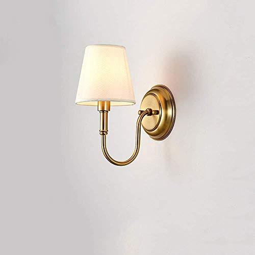 ZCbd Einfache Schlafzimmer Nachttischlampe Nordic Retro Wand LampNew chinesischen Gang Korridor Treppenlichter als Geschenk für Shop Mall Villa Wohnzimmer Esszimmer (Size : A)