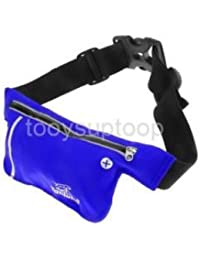 Alcoa Prime Unisex Ultrathin Outdoor Running Waist Bag Sports Pockets Bag -Sapphire Blue