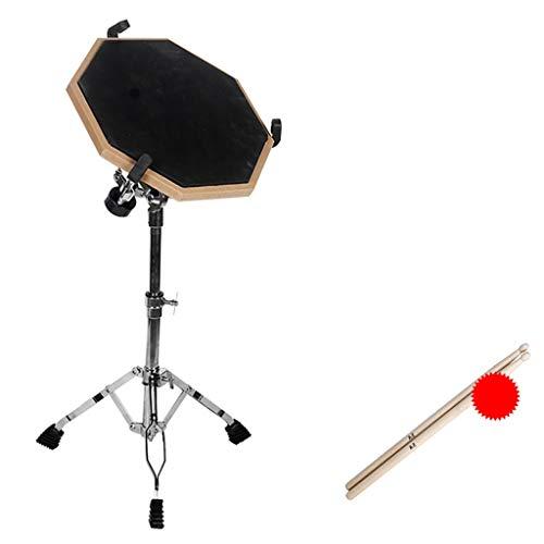 GDGQJRM Keyboard-Ständer Dumb Drum-Pad-Halterung Snare-Drum-Regal Dumb-Drum-Drum-Regal 13-15 Zoll Dumb-Drum-Pad Universal-Drum-Rack Drum Zubehör für Musikinstrumente (Farbe : A4) (Snare-drum-halterung)