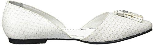 s.Oliver Damen 22105 Geschlossene Sandalen Weiß (White 100)