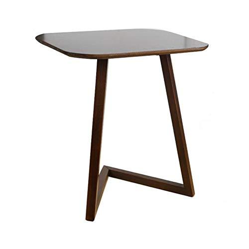 XNADESK Solid Wood Pc Laptoptisch, Kleiner Couchtisch Einfache Sofa Beistelltisch Computerschreibtisch Mini-Tisch Wohnzimmer Eck-Tisch-dunkel Walnuss Beautiful