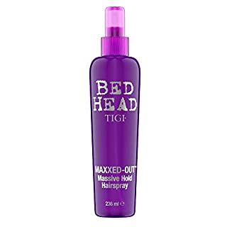 Bed Head by Tigi Maxxed Out Non-Aerosol Massive Hold Hairspray, 236 ml