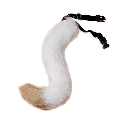 Masque Pour Prom - VLUNT Halloween Costumes Faux Fur Fox tail