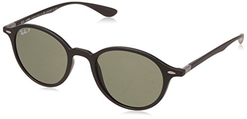 Ray-Ban UV Protected Round Unisex Sunglasses (0RB4237601S5850|50|Green)
