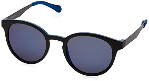 BOSS Hugo Unisex-Erwachsene 0869/S XT 0N2 Sonnenbrille, Schwarz (Mtblck Dkrut/Blue Sky Grey Speckled), 51