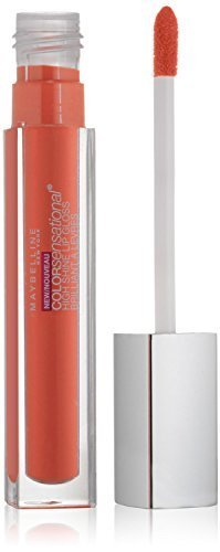 (2 Pack)-Maybelline ColorSensational High Shine Lip Gloss-Captivating Coral #40, 0.17 Fluid Ounce each by Maybelline