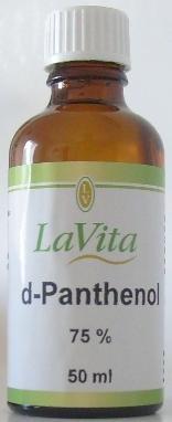 Lavita d-Panthenol 75% 50ml Ort Creme