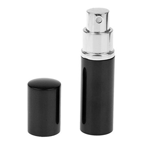 10ml Mini Vaporisateur Atomiseur Vide Rechargeable pour Parfum Après-rasage - Noir