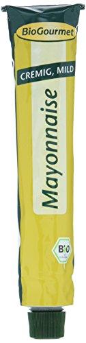 Bio-mayonnaise (BioGourmet Mayonnaise, Tube, 8er Pack (8 x 100 ml) - Bio)