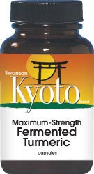 Swanson Kyoto Maximum Strength Fermented Turmeric (30 Capsules) by Swanson Health Products