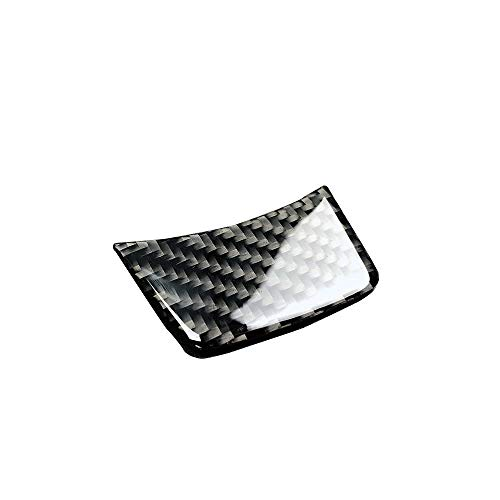 TOOGOO Volante in Fibra di Carbonio Sline S Line Cover per Audi A4 B8 A3 A6 C7