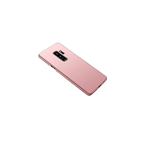 MuSheng For Samsung Galaxy S9 Plus Hülle,Ultradünne Luxus Hard PC Crystal Clear Floating Sparkle Herzen Liquid Glitter Hülle Gehäusedeckel Deckung für Samsung Galaxy S9 Plus (Roségold) -