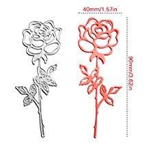 Enipate Rose Garden DIY Album de scrapbooking carte papier carte Maker en métal Die Cut Pochoir Décoration Dies Craft Coupe Dies Template