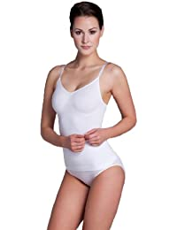 Miss Perfect Style n' Go Miederhemd ohne Bügel Figurformer Bauchweg Hemdchen