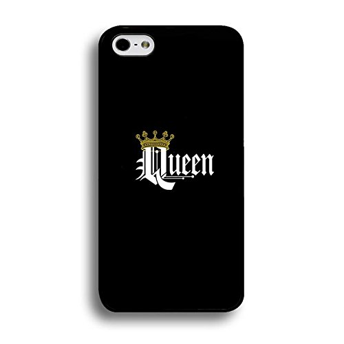 Boyfriend and Girlfriend Lovers Iphone 6/6s 4.7 (Inch) Case Fashionable Cool King Queen Matching Couple Phone Case Cover for Iphone 6/6s 4.7 (Inch) Best Friends Prime Color224d