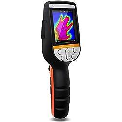 PerfectPrime IR0280, Caméra infrarouge (IR) et caméra de lumière visible/enregistrement vidéo 1024 pixels et plage de température de -30 à 1000 ° C, taux de rafraîchissement de 9 Hz