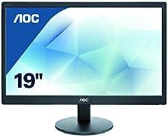 Aoc E970SWN Monitör, 18,5 Inches LED