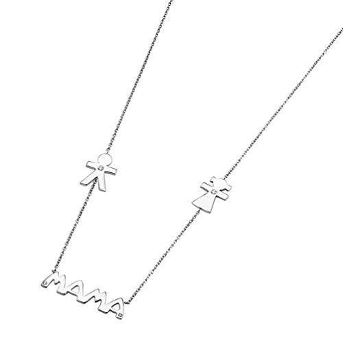 Collar Mujer Lotus Silver 'Mamá' LP1239-1/3...