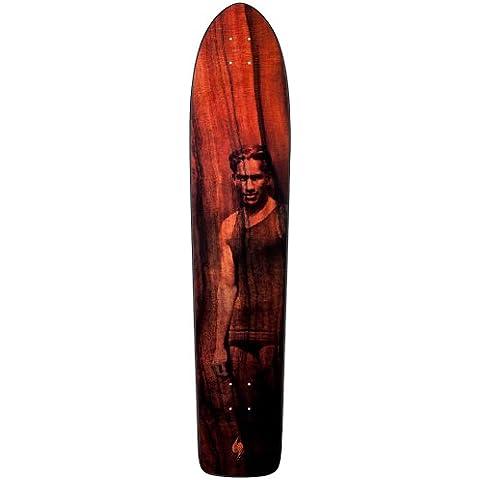Surf One OG Duke Skateboard Deck (Natural, 9.0-Inch) by Surf One