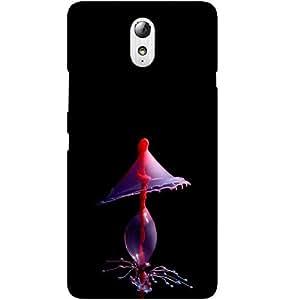Casotec Drop Splash Design Hard Back Case Cover for Lenovo Vibe P1M