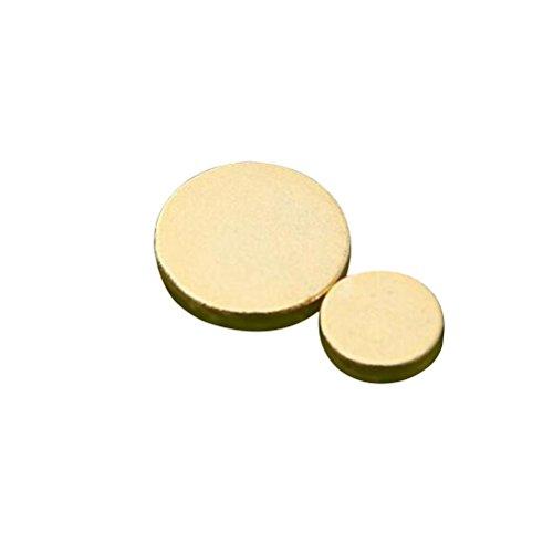Healifty Pendientes magnéticos delgados Stop Smoking Magnetic Therapy 1 Par