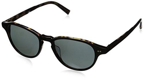 John Varvatos Herren V600 Blk Rund Sonnenbrille, Black