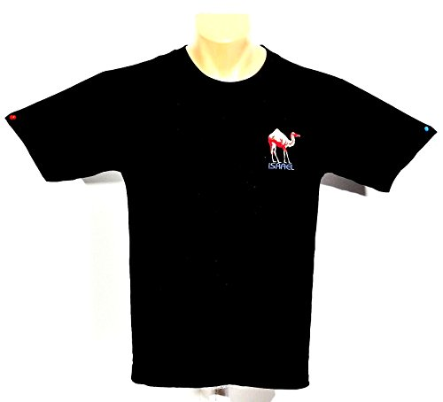 Israel Camel Stickerei T-Shirts 100% Baumwolle -