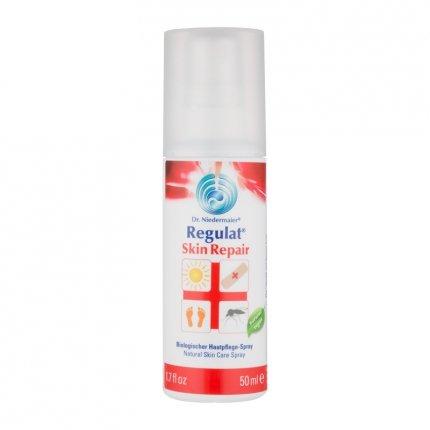 Regulat Niedermaier Pharma I Skin Repair Hautspray 50 ml I Biologisches Cortison- Soforthilfe für die Haut I REGULATESSENZ